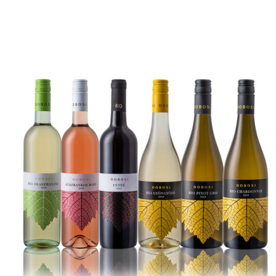 Könnyed borok borcsomag (6db)