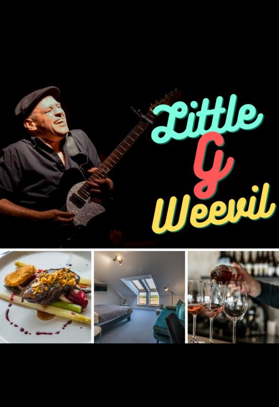 Little G Weevil koncertjegy - vacsora menüvel / augusztus 19.